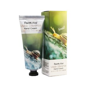 FarmStay visible differerce hand cream snail