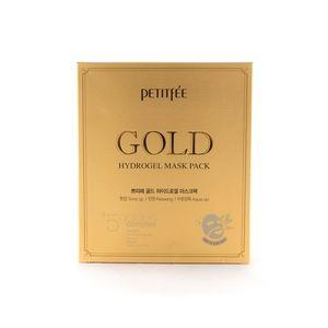 PETITFEE Gold Hydrogel Mask, набор из 5 шт