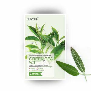 EUNYUL Natural Moisture Mask Pack Green Tea