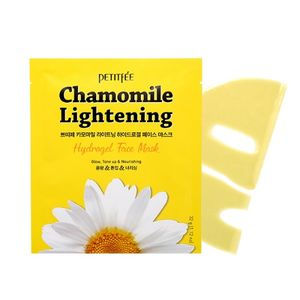 PETITFEE Chamomile Lightening Hydrogel Face Mask