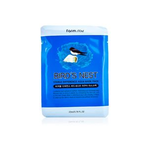 FarmStay VISIBLE DIFFERENCE BIRDS NEST AQUA MASK PACK