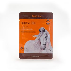 FarmStay VISIBLE DIFFERENCE MASK SHEET HORSE OIL