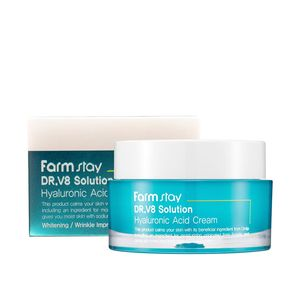 FarmStay Dr-V8 Solution Hyaluronic Acid Cream