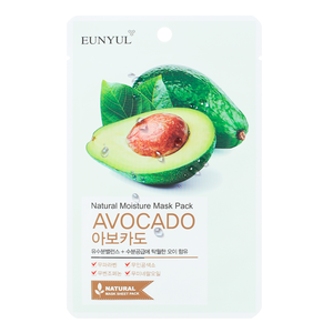EUNYUL Natural Mosture Mask Pack Avocado