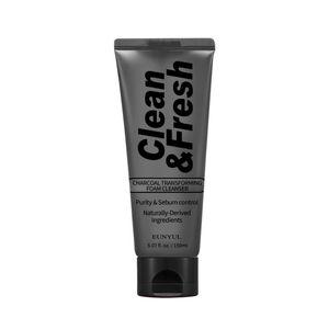 EUNYUL Clean & Fresh Charcoal Transforming Foam Cleanser