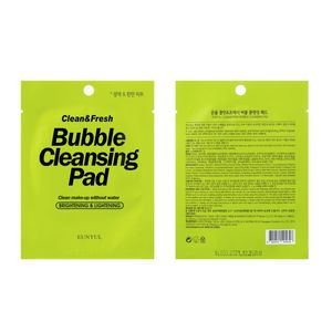 EUNYUL Clean & Fresh Bubble Cleansing Pad Очищающие пады