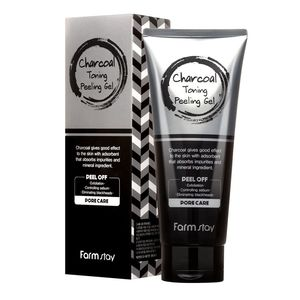 FarmStay Charcoal Toning Peeling Gel
