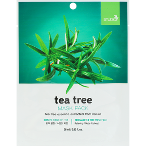BERGAMO Tea Tree Mask Pack