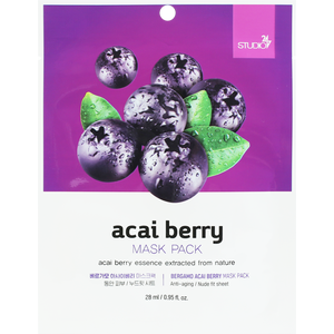 BERGAMO Acai Berry Mask Pack