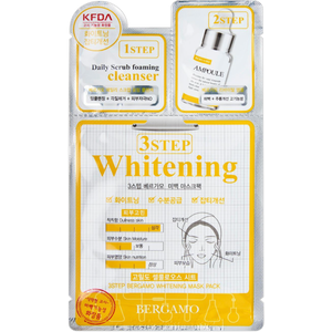 BERGAMO 3Step Whitening Mask Pack