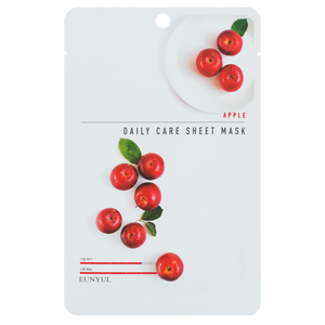 EUNYUL Apple Daily Care Sheet Mask тканевая маска