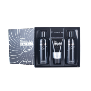 FarmStay Visible Difference Black Snail Homme 3 Set