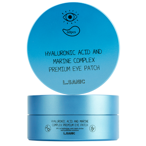 L.Sanic Hyaluronic Acid and Marine Complex Premium Eye Patch, 60 шт