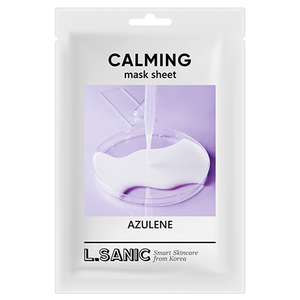 L.SANIC Azulene Calming Mask Sheet