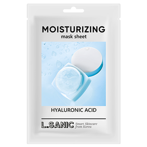 L.SANIC Hyaluronic Acid Moisturizing Mask Sheet