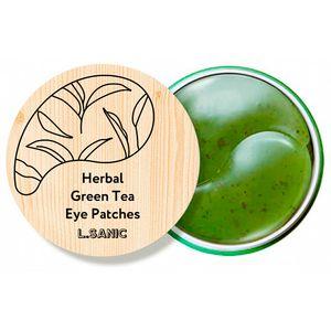 L.Sanic Herbal Green Tea Hydrogel Eye Patches (НОВИНКА!)