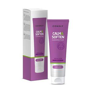 """CONSLY Azulene Cleansing Foam """"Calm&Soften"""""""