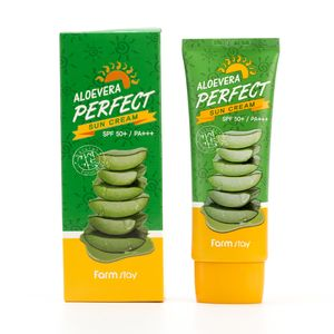 FarmStay Aloevera Perfect Sun Cream SPF 50+/PA+++