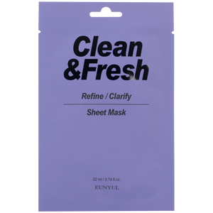 Eunyul Clean&Fresh Refine/Clarify Sheet Mask
