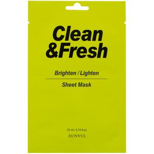 Eunyul Clean&Fresh Brighten/Ligten Sheet Mask