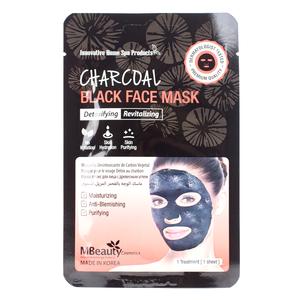 MBeauty Charcoal Black Face Mask
