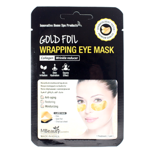 MBeauty Gold Foil Wrapping Eye Mask