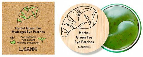 l.sanic herbal гидрогелевые патчи с зеленым чаем