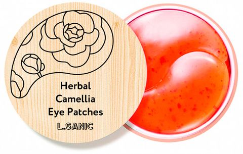 L.Sanic Herbal Camellia Hydrogel Eye Patches (НОВИНКА!)