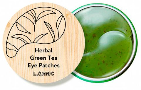L.Sanic Herbal Green Tea Hydrogel Eye Patches (НОВИНКА!)