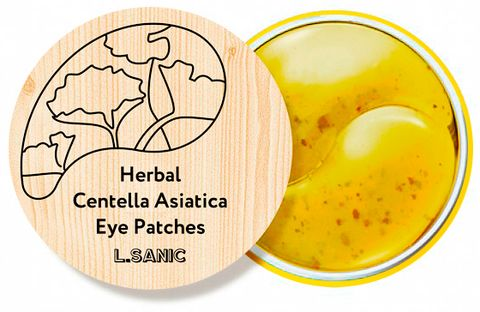 L.Sanic Herbal Centella Asiatica Hydrogel Eye Patches (НОВИНКА!)