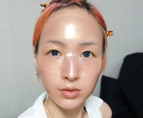 Koelf маска для лица с рубином и розой