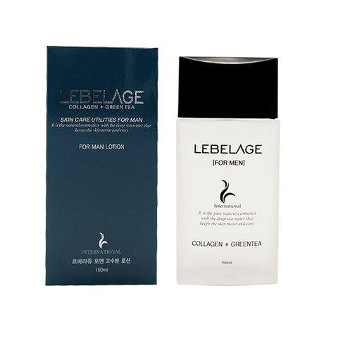 Lebelage Collagen+Green Tea Skincare Utilites For Men Lotion