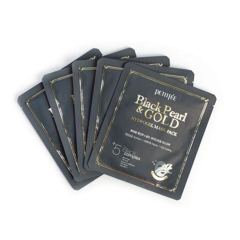 Petitfee Black Pearl & Gold Mask Pack набор из 5шт
