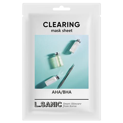 L.SANIC AHA/BHA Clearing Mask Sheet
