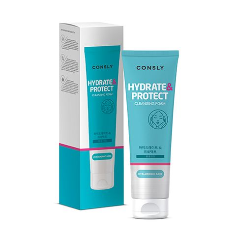 """CONSLY Hyaluronic Acid Cleansing Foam """"Hydrate&Protect"""""""