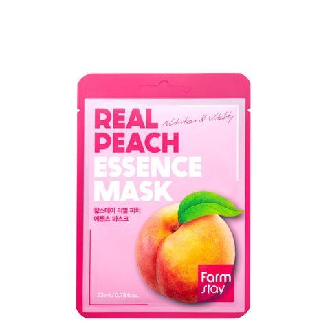 FarmStay Real Peach Essence Mask