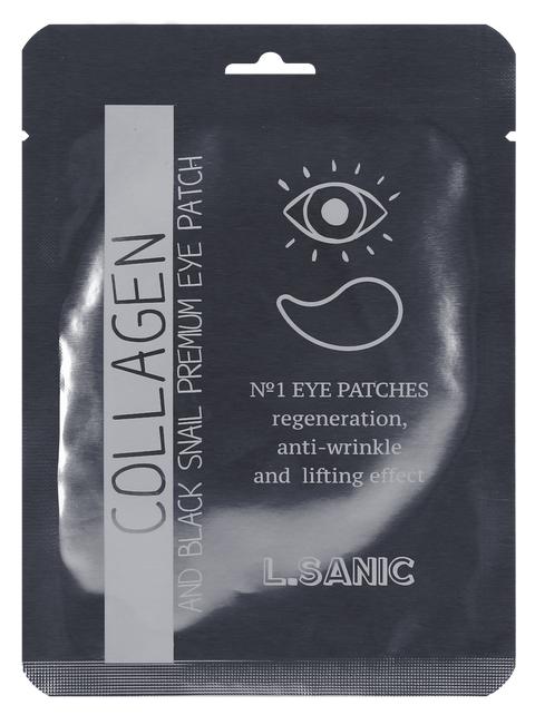 L.SANIC Collagen Аnd Black Snail Premium Eye Patch  (Single)